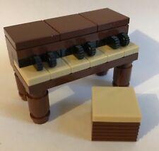 NUOVO COSTRUZIONI LEGO Pianoforte BRUNO ROSSASTRO & Tan - 100% parti lego Nuovo di Zecca