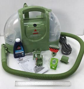 Bissell, Little Green Spot & Stain Handheld Carpet Cleaner, Model 1400-B (READ)