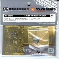AFV Club 1/35 TH35012 Photo Etched Parts Set for STURMTIGER (Late Version)