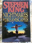 Stephen King Nightmares and Dreamscapes 1993 Hardcover