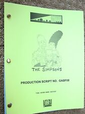 SIMPSONS TV SERIES SHOW SCRIPT EPISODE  THE SEVEN BEER SNITCH