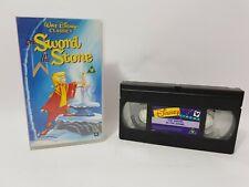 The Sword In The Stone Walt Disney Classics VHS Video Cassette D202292 PAL