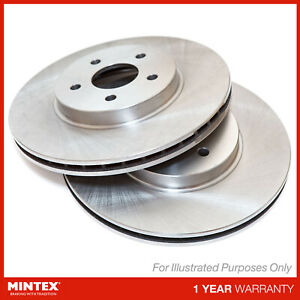 For Pontiac Grand Prix 3.8 Genuine Mintex 5 Stud Front Vented Brake Discs