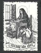 Postal de Santa Teresa andachtsbild santino holy card santini