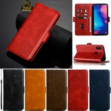 Luxury Wallet Leather Flip Case Cover For Xiaomi 9T Redmi Note 8 Note 7 6A 7A 8A
