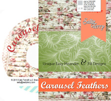 Free Motion Feather Fill Meander Machine Quilting Tutorial DVD Close Up Video