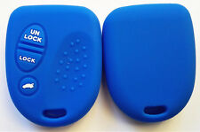 BLUE SILICONE KEY COVER for HOLDEN COMMODORE VS VT VX VY VZ WH WK WL