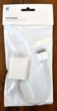Genuine Apple VGA Adapter for iPad iPhone iPod Touch MC552ZM/B New & Unopened.