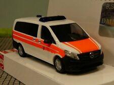 1/87 Busch MB Vito Bundespolizei Notarzt polizeiärztlicher Dienst Sanitätsdienst