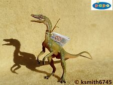 Papo COMPSOGNATHUS plastic toy Prehistoric animal DINOSAUR predator * NEW *💥