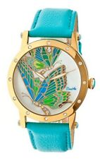 Authentic Bertha Isabella Ladies Women's Watch BTHBR4302 Turquoise Butterflies