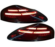 LED tail rear lights FOR Porsche Boxster 986 96-04 in black Dynamic indicator