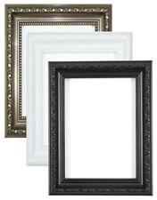 Ornate Picture Frame Shabby Chic Picture frame photo frames Black White Gunmetal