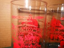 2 Oklahoma! The Musical DISCOVERY LAND Souvenir Glasses
