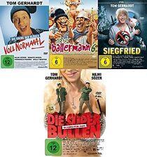 4 DVDs * TOM GERHARDT SUPER SET u.a. BALLERMANN 6 , VOLL NORMAAAL ! # NEU OVP +