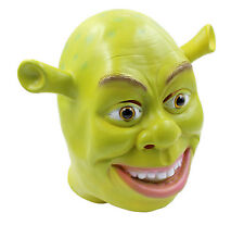 Funny Green Shrek Cosplay Mask Halloween Fancy Dress Costume Latex Mask UK