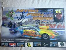 Kenny Koretsky signed Nitro Fish Wear NHRA Photo Card  N 771