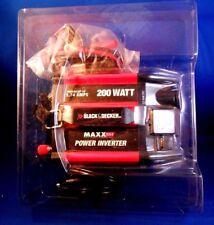 Black & Decker / Maxx SST - 200-Watt Power Inverter 1.74 Amps Lightly Used