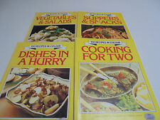 100 recipes in colour Norma MacMillan Retro 1976 cooking books - 4 books total