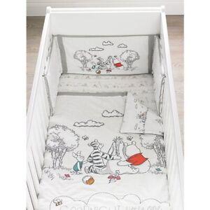"DISNEY ""Winnie The Pooh"" BEDDING  COT/ COT BED 4 TOG QUILT Nursery 100x120cm"