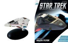 Star Trek Official Starships MAGAZINE #38 Delta Flyer Eaglemoss DT. Magazine