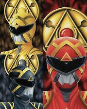 Power Rangers #1 Andrèas Mischke Virgin Variant SET