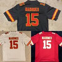 NWT Patrick Mahomes #15 Kansas City Chiefs MEN'S Stitched RED/WHITE/BLACK Jersey
