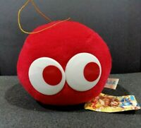 "Puyo Puyo Sega Compile Plush Toy Red Mascot Ball Suction Cup Japan TAG 4"""
