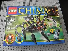 Lego Chima- 70130 Sparratus' Spider Stalker - New in Box - 2 Minifigs !!
