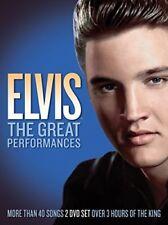 Elvis: The Great Performances [New DVD]