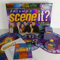 Friends Scene It? Board Game First Edition DVD Trivia 2005 100% Complete