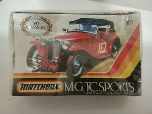 Matchbox 1/32  M.G.TC SPORTS MODEL KIT, PK-306