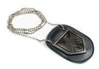 THE AVENGERS AGENTS OF S.H.I.E.L.D SHIELD BADGE LEATHER CUSHION WITH CHAIN-38035