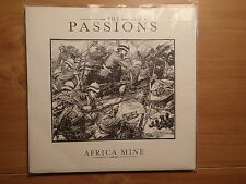 "The Passions-Africa Mine +5 (4 Live)-UK 7"" EP-PS-1982-Polydor POSP 384-NEW"