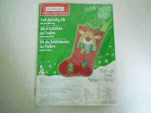 Creatology Holiday Rainer Deer Shocking Felt Activity Kit