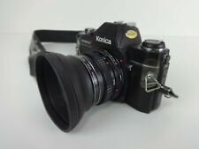 Vintage Film Camera Konica 35mm AutoReflex TC + Hexanon 40mm Lens Made In Japan