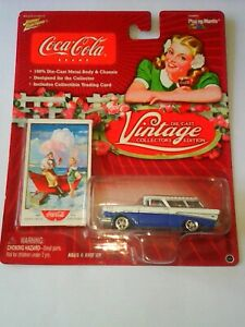 voiture johnny  lightning série coca cola Chevy nomad