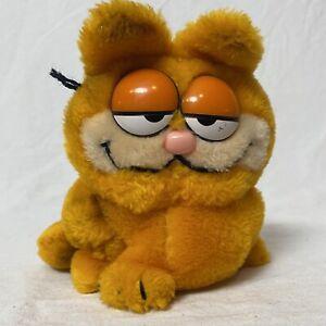 "Vintage 1981 Garfield 7"" Plush Stuffed Animal United Feature Syndicate R. Dakin"