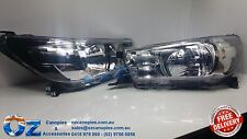 TOYOTA HILUX Head lights Headlamps NEW PAIR left & right 07/2015+