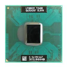 Intel Core Duo T2600 2.16 GHz 2 MB 667 MHz di seconda generazione SL8VN SL9JN Mobile Laptop CPU