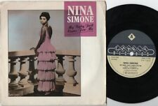"NINA SIMONE My Baby Just Cares For Me 7"" VINYL"