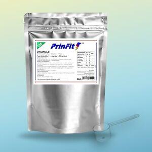 Acido Ascorbico Puro, Integratore 1 kg E300, Vitamina C Polvere, NO OGM PrinFit