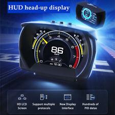 Car HUD Head-up Display OBD GPS Inclinometer Driving Computer Modified Code Part