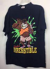Single Stitch Vintage Graphic T-shirt Size L Men's1992 Mister Irresistible Mr