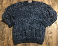 Vintage Original Coogi Blues Mens Sweater XL EUC Biggie Australia Cosby Textured