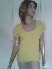 MARKS & SPENCER BRIGHT LIME TOP SIZE 16