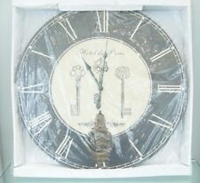 """Highland """"Hotel De Paris"""" Three Key with a Pendulum Home decor Clock"""