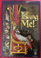 King Me! Board Game by daVinci Games / Mayfair Games NEW & Factory Sealed