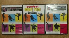 3 Dvd Mixed Set #2Combat/#1Best Defense/#3Ultimate training & Fighting System