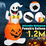 Large Halloween Inflatable Pumpkin Ghost Outdoor Yard Halloween Inflatable